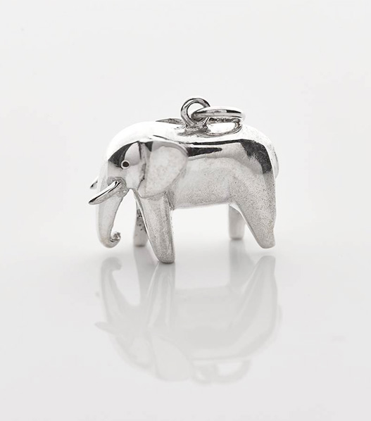 elephant charity necklace