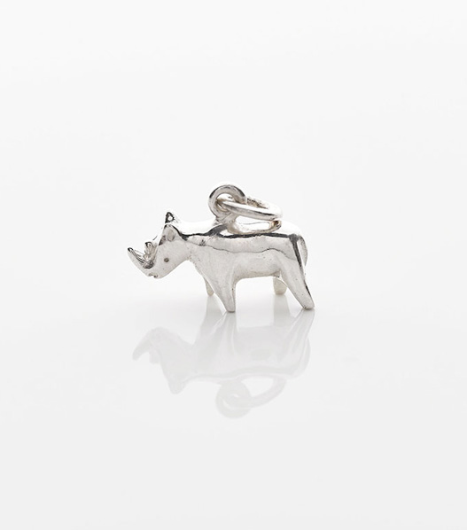 rhino charity necklace